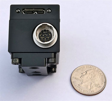 back view of USB 3.0 microscope camera