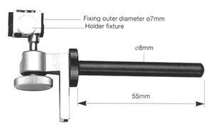 Ball Joint Accessory for attaching holders to manipulators freely.