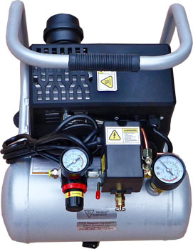 Laboratory Air Compressor 56dBA Oil-less