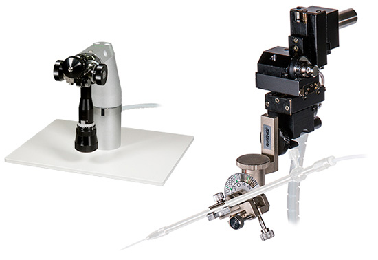 Three-axis Hanging Joystick Oil Hydraulic Micromanipulator