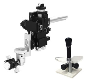 Three-Axis Joystick Type Oil Hydraulic Fine Micromanipulator