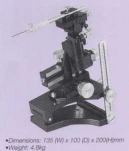 Two-Axis Universal Micromanipulator (with Tilt and Pivot Mechanism)