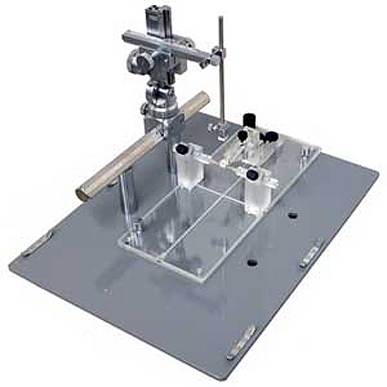 Stereotaxic Instrument (for rats/MRI) with two AP frame bars and Micromanipulator