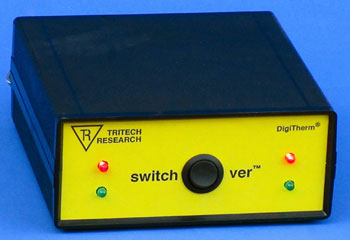 SwitchOver&trade; CO<sub>2</sub> Cylinder Automatic Backup Switcher