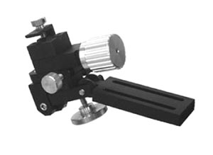 Single-Axis Fine Mechanical Micromanipulator (Plate Mount)