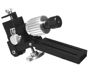 Single-Axis Coarse/Fine Mechanical Micromanipulator (Plate Mount)