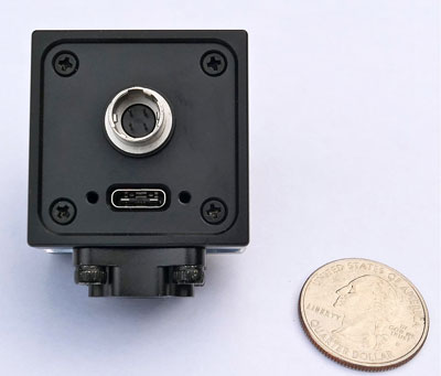 back view of USB 3.1 microscope camera