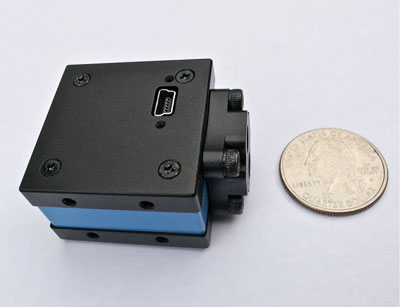 back view of USB 2.0 microscope camera