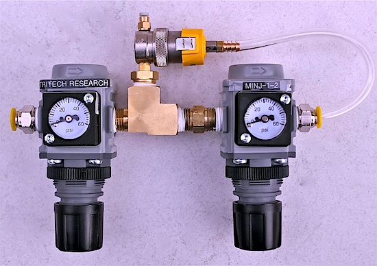 Dual-pressure microINJECTOR LP