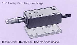 Patch Clamp Headstage Holder (for List)