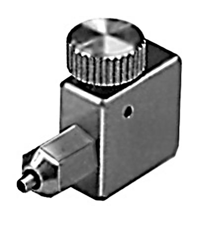 Micropipette-Tubing Connector w/ valve