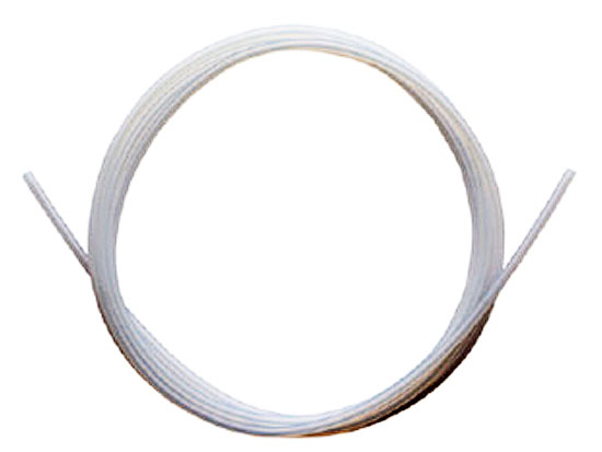 PTFE (same as Teflon) Tubing 2mm O.D. (1.2 meter)