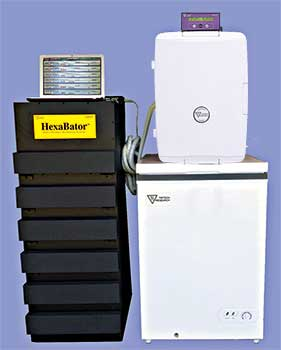 DigiTherm® HexaBator™ Multi-chamber CO<sub>2</sub>  Rapid Cooling Incubator