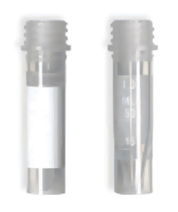 2.0mL Graduated Free Standing Microcentrifuge Tubes Only (500/cs)