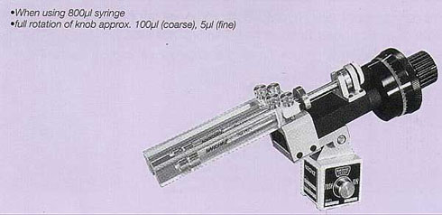 Syringe-based Microinjector