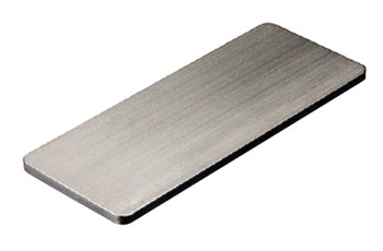 Steel plate for small injectors.