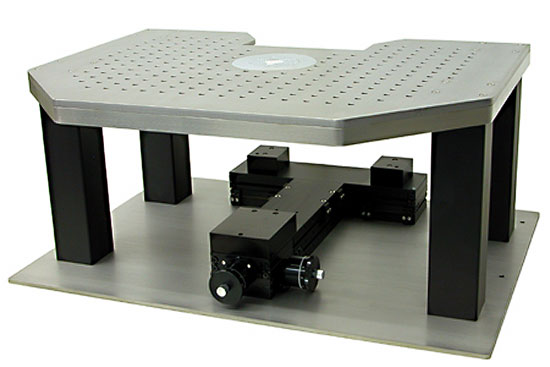 Isolation System for Carl Zeiss fixed stage upright microscope / Axioskop 2FS