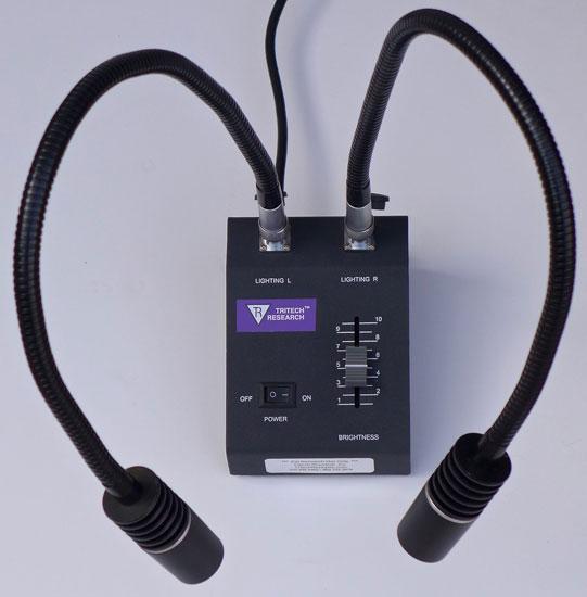 LED Dual Goose-neck Illuminator for Microscopes