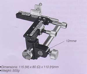 Compact Three-Axis Coarse Micromanipulator