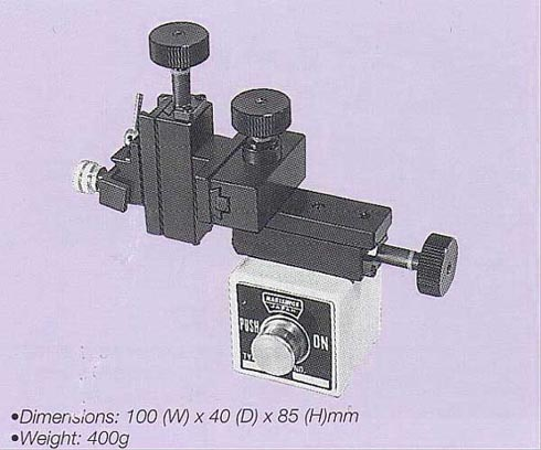 Ultra Compact Three-Axis Coarse Micromanipulator (Magnet Mounting)