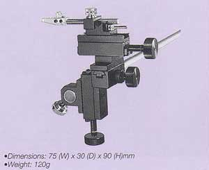 Ultra Compact Three-Axis Coarse Micromanipulator (Bar Mounting)