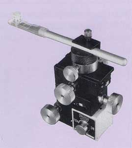 Magnet-Mount Three-Axis Coarse Micromanipulator (with Magnetic Base)