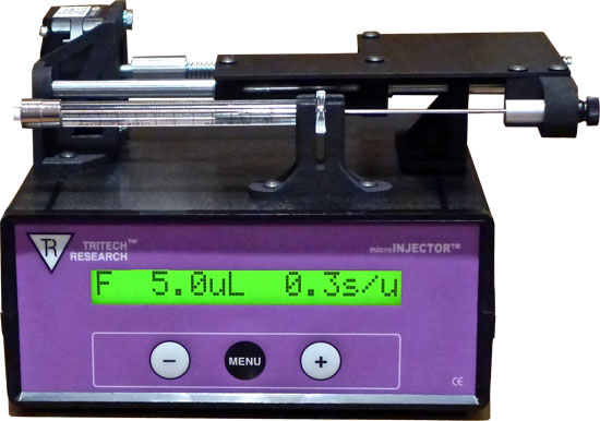 microINJECTOR(TM) All-Digital Positive Displacement System