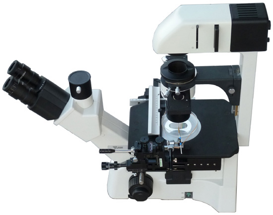 Yeast Tetrad Dissection System Complete w/ Inverted Microscope, manipulator