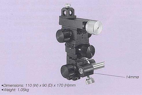 Three-Axis Coarse/Fine Micromanipulator (Similar to MM-3)