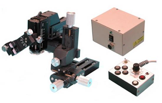 Three-Axis Coarse / Fine Motorized Micromanipulator