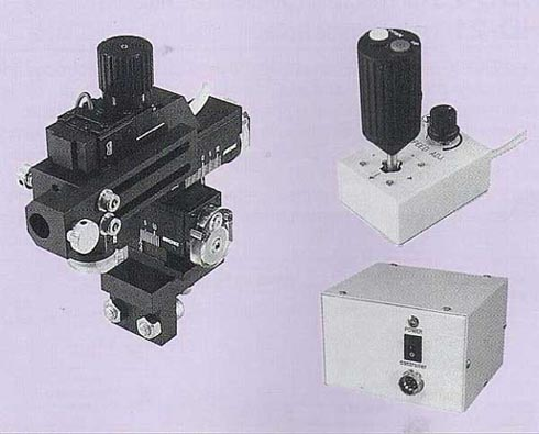 Three-Axis Coarse DC Motor Drive Micromanipulator