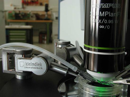 Kleindiek Ultra-precise Piezo-motor Micromanipulator System