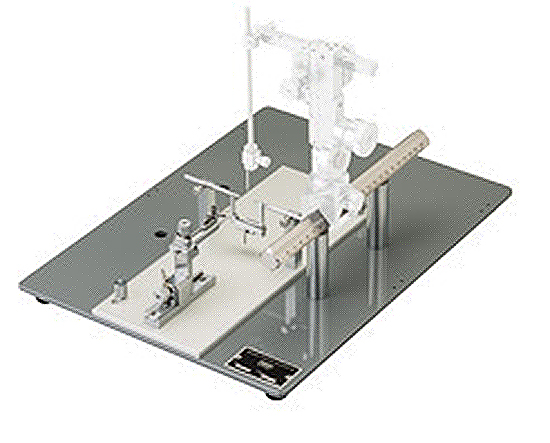 Small Animal Stereotaxic Workstation (With Single AP Frame Bar) with Micromanipulator