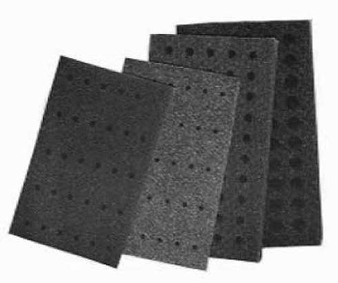 Super Polyester Foam Tube Racks for 1.5 - 2 mL EPP, mini culture tubes (pk. of 6)