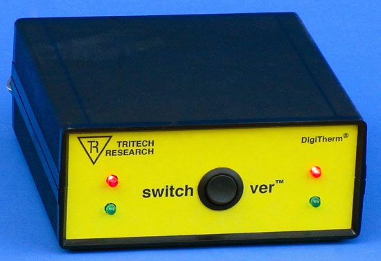 SwitchOver(TM) CO2 Cylinder Automatic Backup Switcher