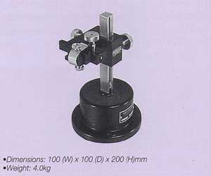 Miniature Universal Positioning Stand with Three-Axis Adjustment